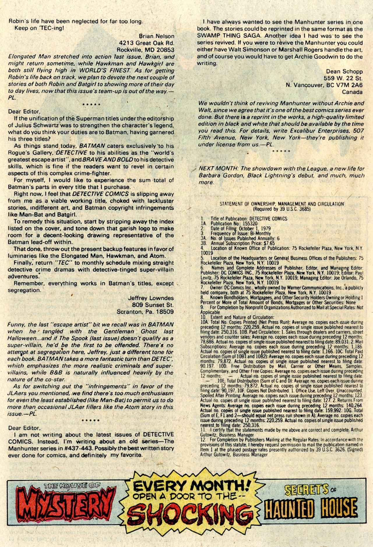 Detective Comics (1937) 489 Page 41
