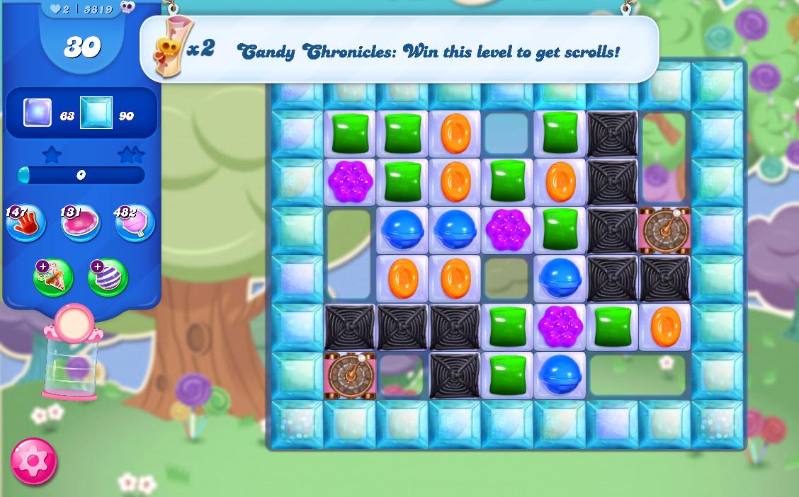 Candy Crush Saga level 5819