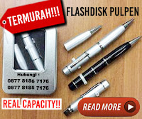 Jual USB Promosi - Flashdisk Pulpen Laser Pointer Murah