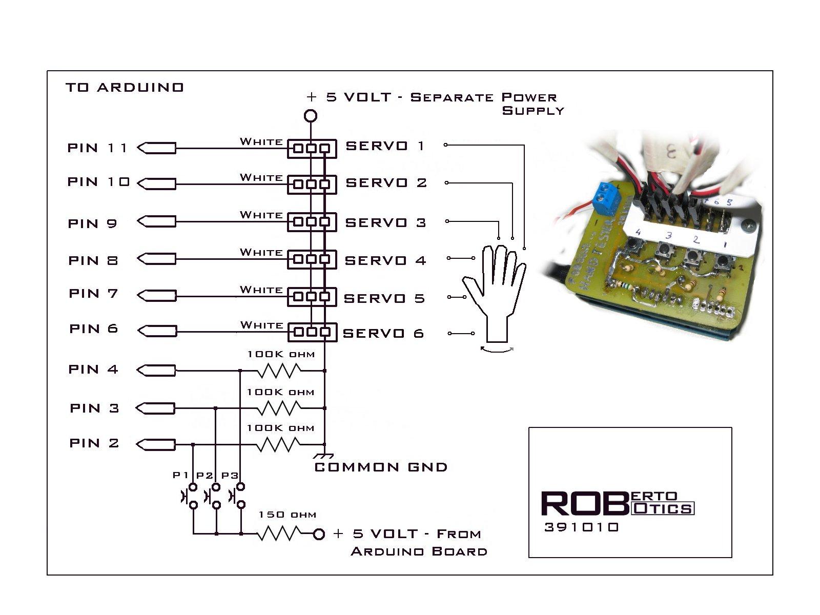 Roberto Homemade Low Cost Animatronic And Robotics