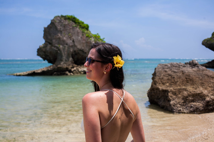 Okinawa travel guide: Mibaru beach