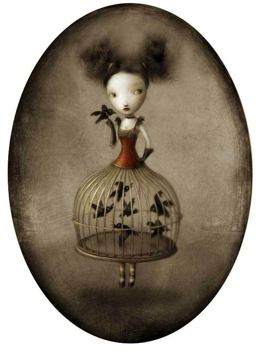 19-Sheryl-Nicoletta-Ceccoli-Surreal-Fairy-Tales-NOT-for-Children-www-designstack-co