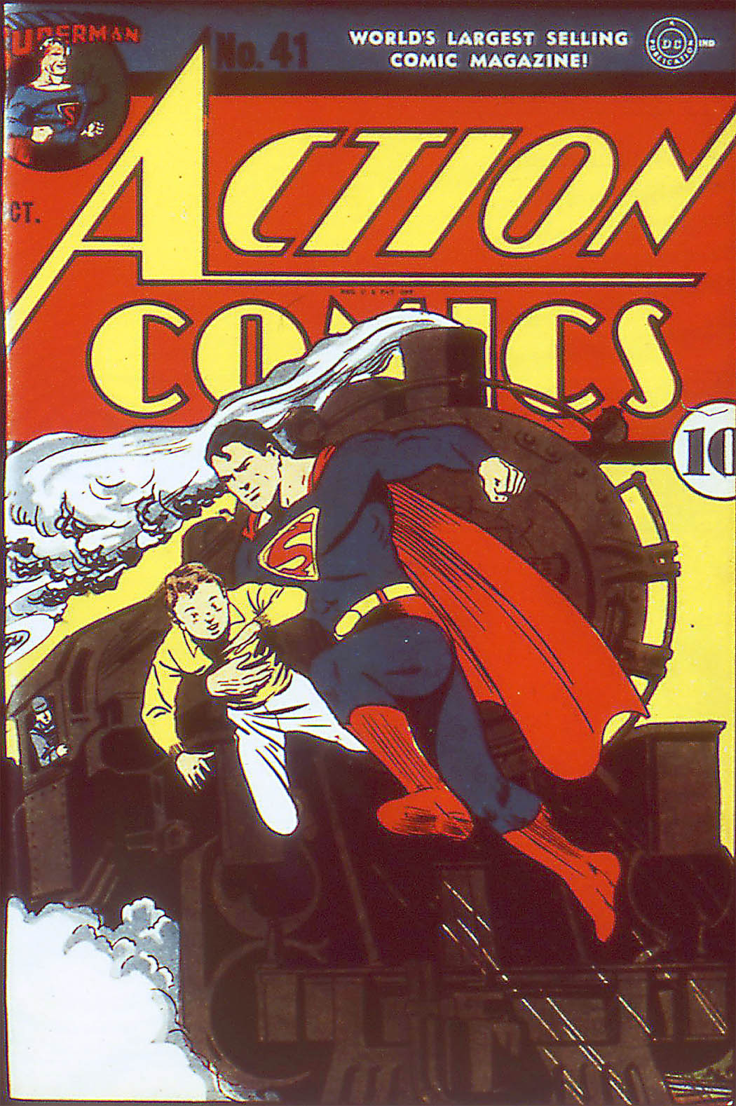 Read online Action Comics (1938) comic -  Issue #41 - 2