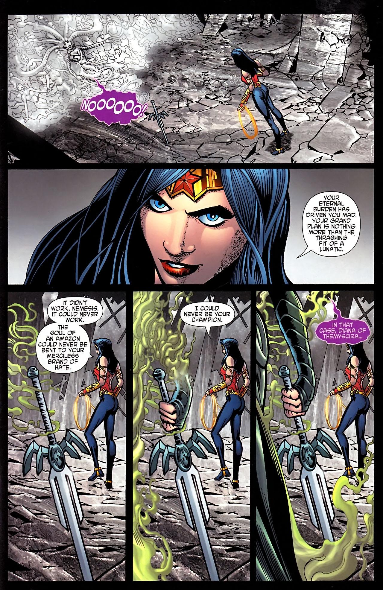 Read online Wonder Woman (2006) comic -  Issue #613 - 20