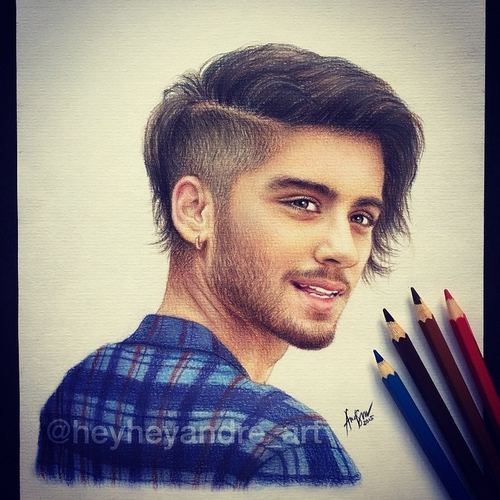 13-Zayn-Malik-One-Direction-André-Manguba-Celebrities-Drawn-and-Colored-in-with-Pencils-www-designstack-co