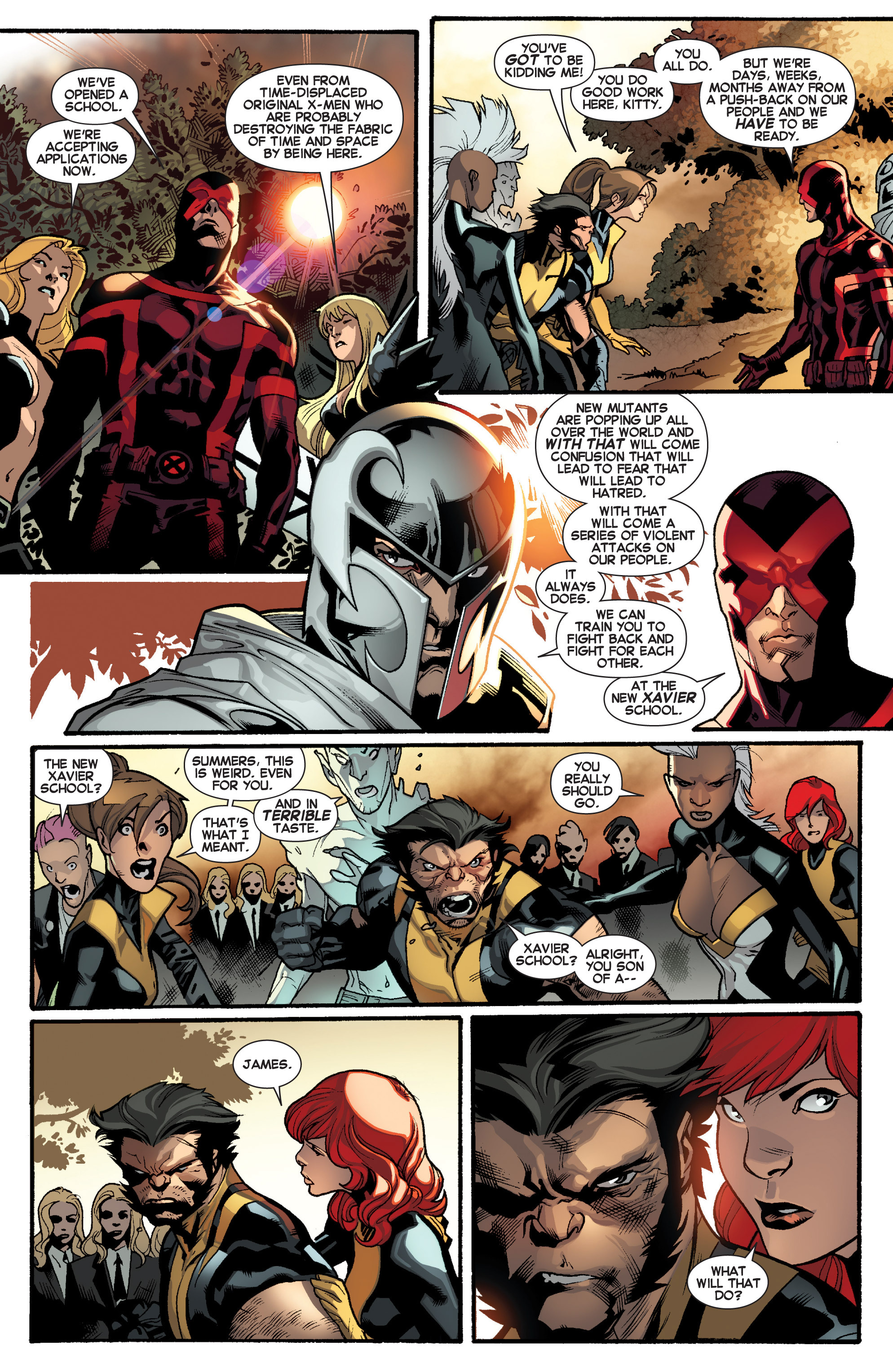Read online All-New X-Men (2013) comic -  Issue # _Special - Here To Stay - 96