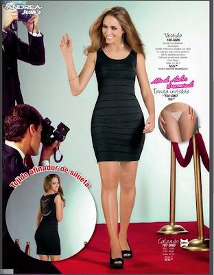 vestido negro de andrea jeans 14-15