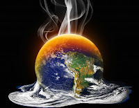 Water spilling off earth (Credit: Shutterstock) Click to Enlarge.