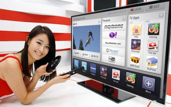New Google TV Will Launch On May 2012 By LG Electronics