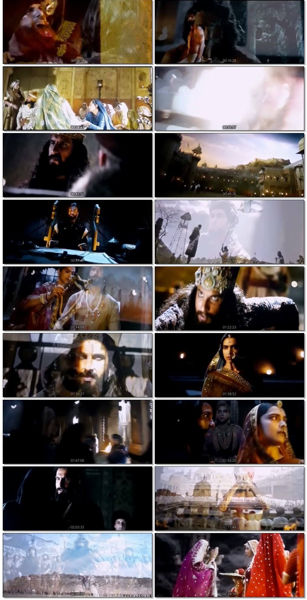 Screen Shot Of Padmavati  2018 Full Movie Free Download HD 720P Watch Online