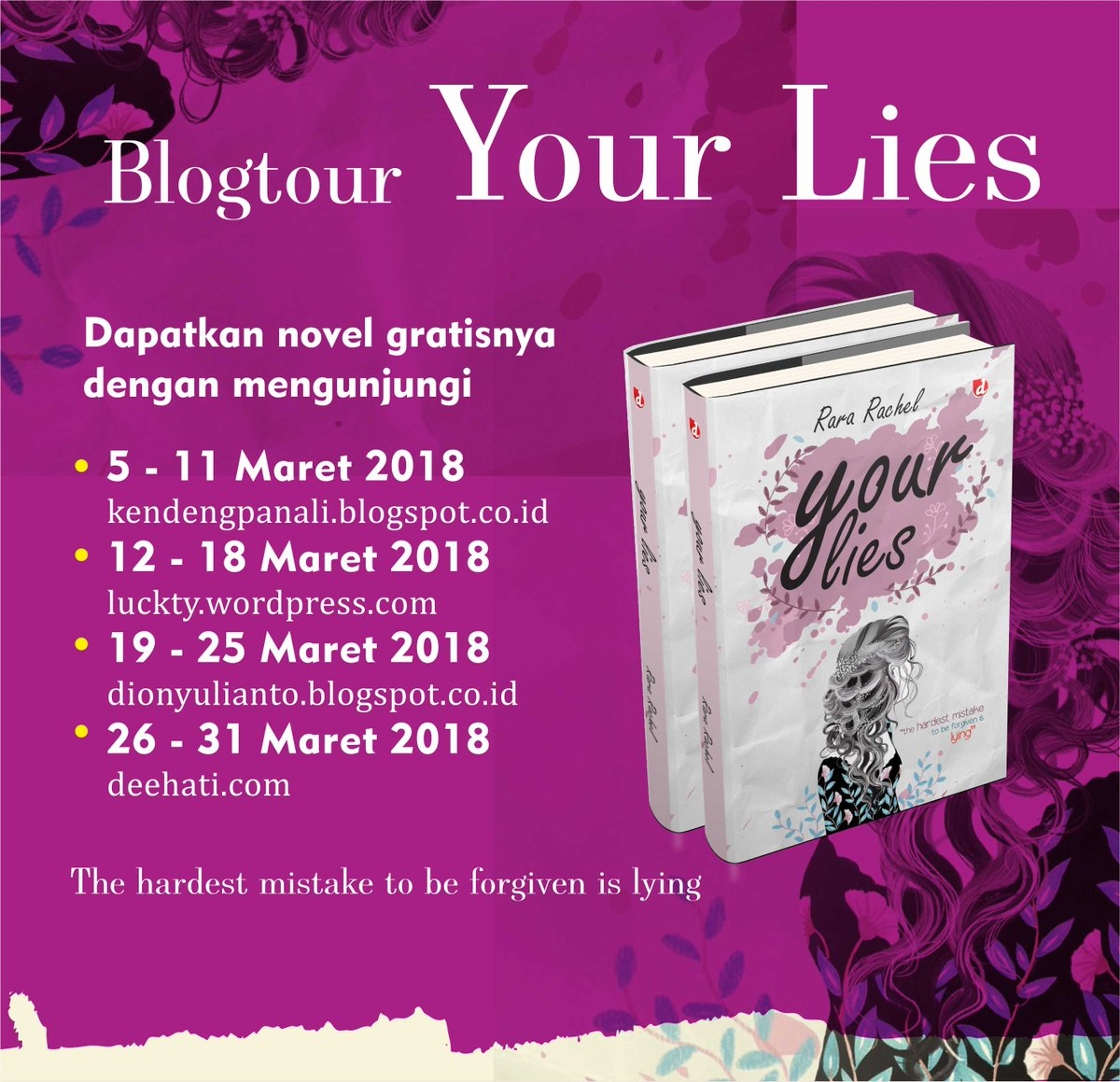 Blogtour Your Lies
