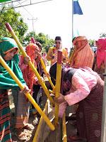 "Tim Penilai Lomba Desa Disambut ""Kareku Kandei"" di Labuhan Kananga"