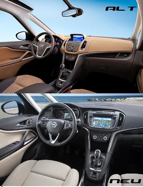 Neuvorstellung das ist der neue opel zafira myauto24 for Interieur zafira