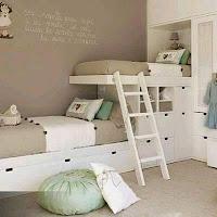 camas de cuartos para niños