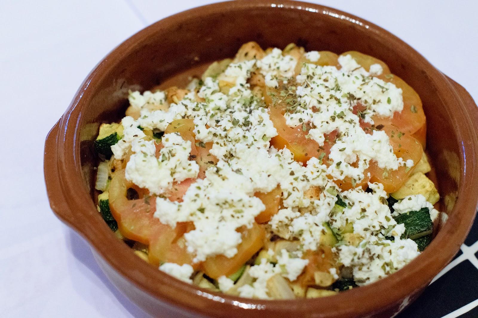 Cazuela de pavo con verduras