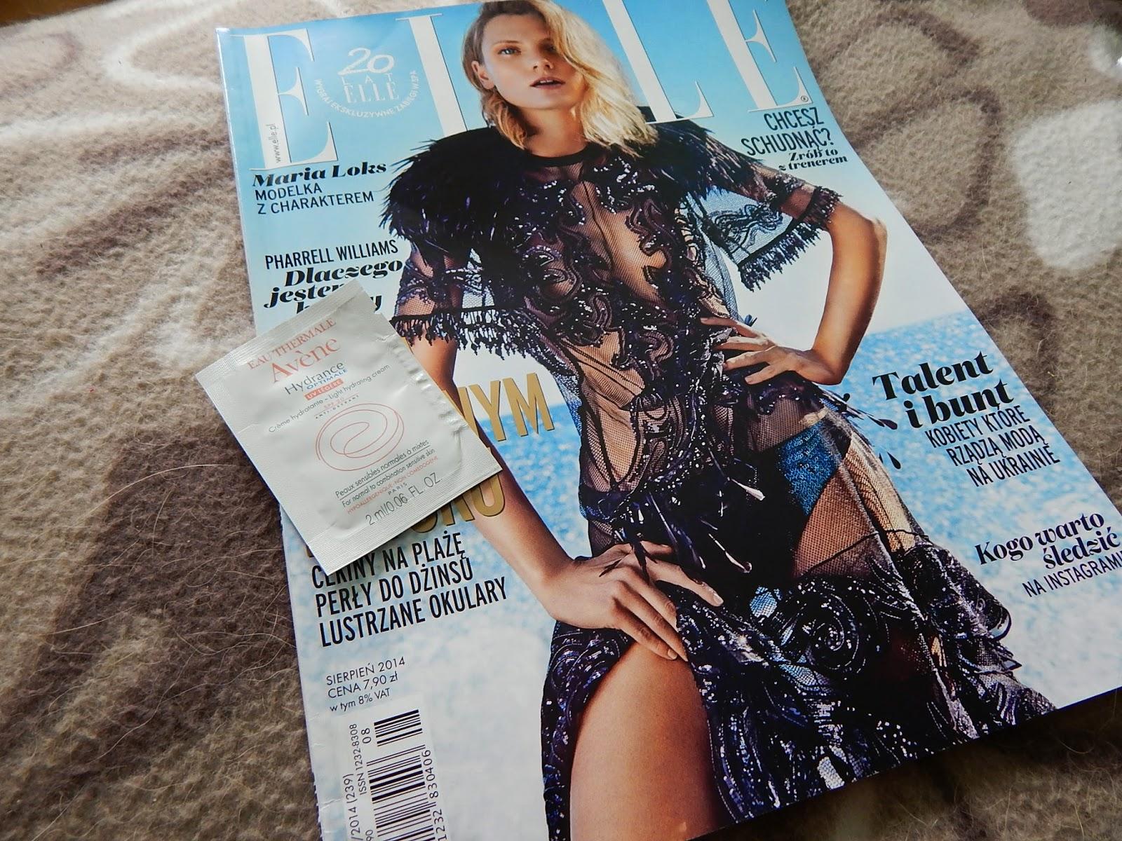 ~31 Czy warto kupować gazety o modzie? Krótka recenzja sierpniowego Elle.