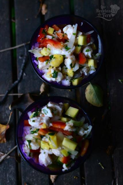 Ceviche de perca con mango tererecetas 02