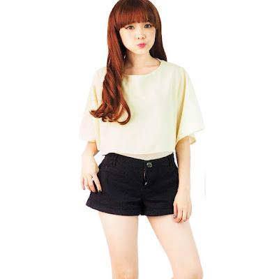 Model Celana Pendek Santai