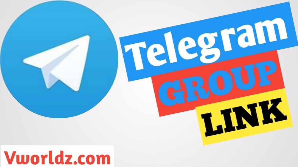 Telegram Group Link Join Unlimited Telegram Group - V World