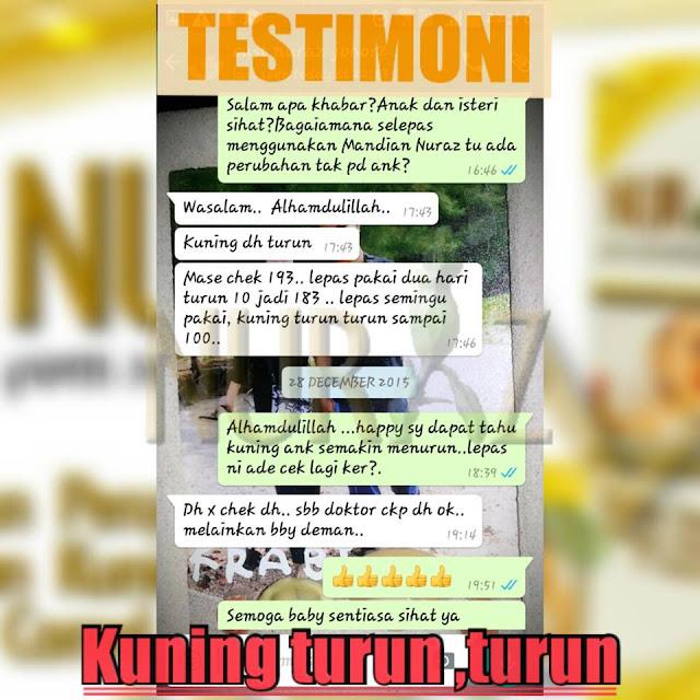 Lagi dan lagi testimoni Mandian Nuraz