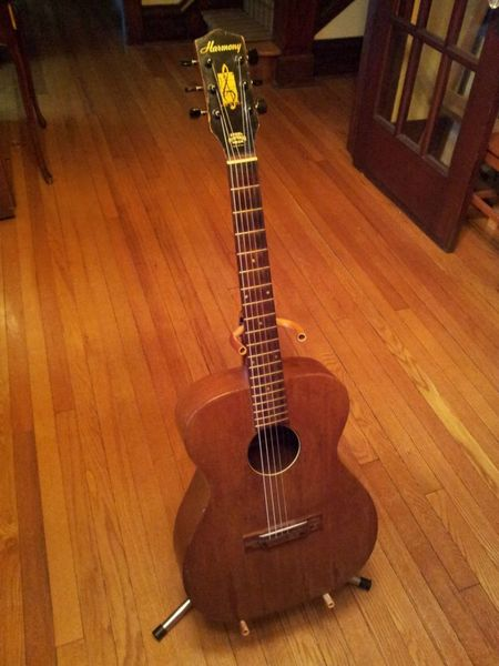 True Market Value >> Canadian Vintage Guitar Hunt: 1960's HARMONY Acoustic Guitar