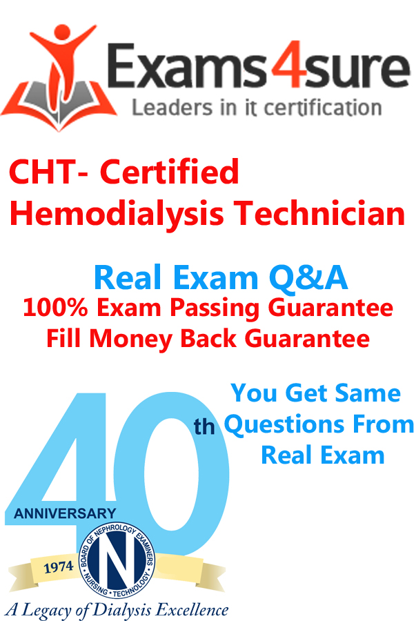 Certified Hemodialysis Technician Cht Exam Questions