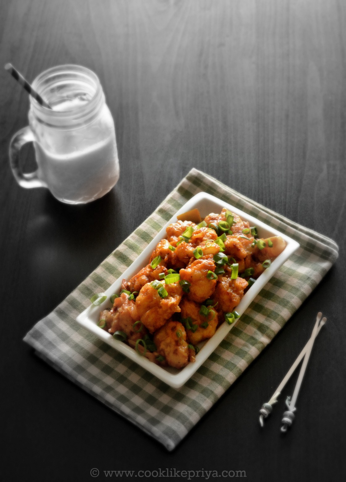 Gobi Manchurian / Cauliflower Manchurian - Easy Veg starter recipe