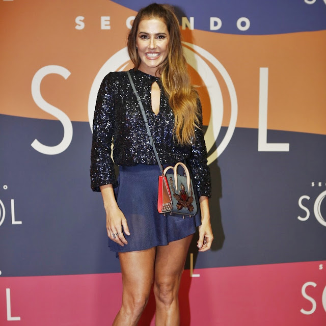 Looks festa de lançamento novela Segundo Sol