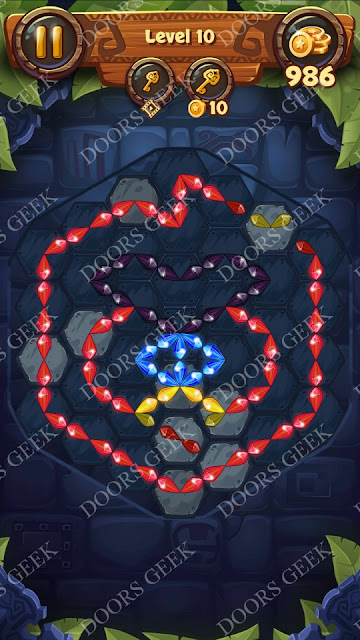 Gems & Magic [Titanium] Level 10 Solution, Walkthrough, Cheats