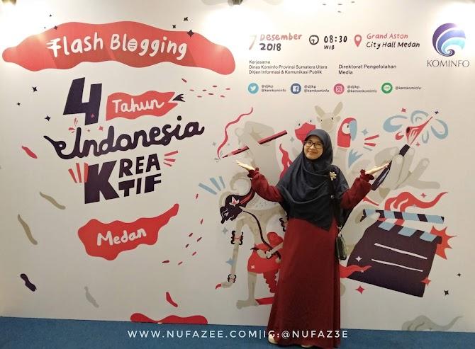 Belajar Dari  4 Tahun Indonesia Kreatif : Bekal Emak Blogger Membentuk Generasi Muda Indonesia