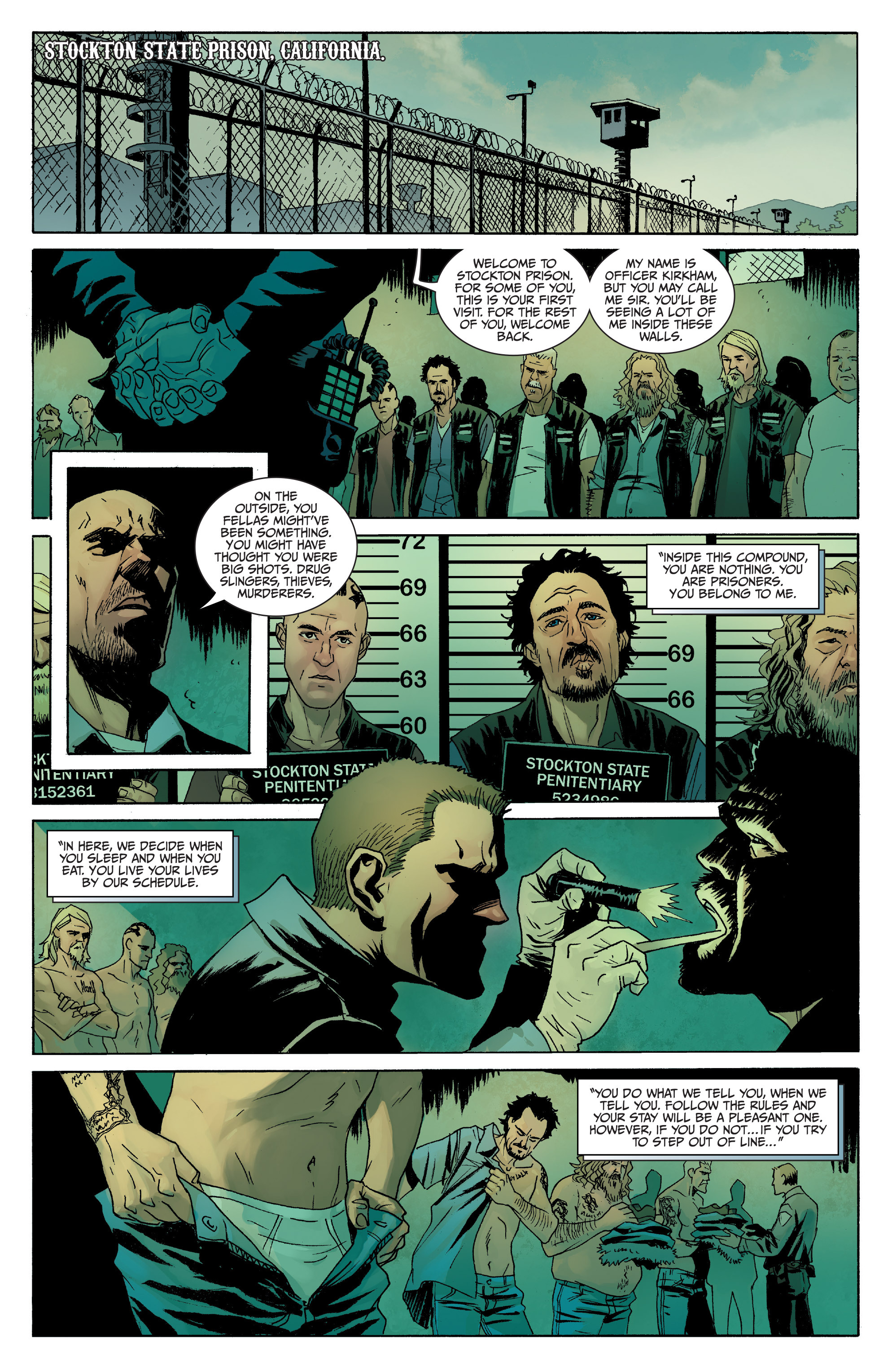 Read online Sons of Anarchy comic -  Issue #8 - 3