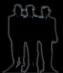 Mysterious Men in Black Arrive After UFO Activity