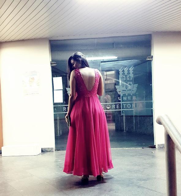 Look do dia | Minha Formatura | Vestido Rosa ❤