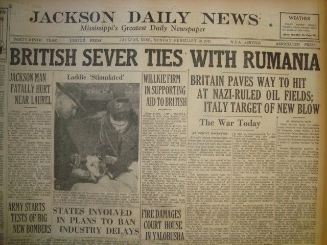10 February 1941 worldwartwo.filminspector.com Jackson Daily News