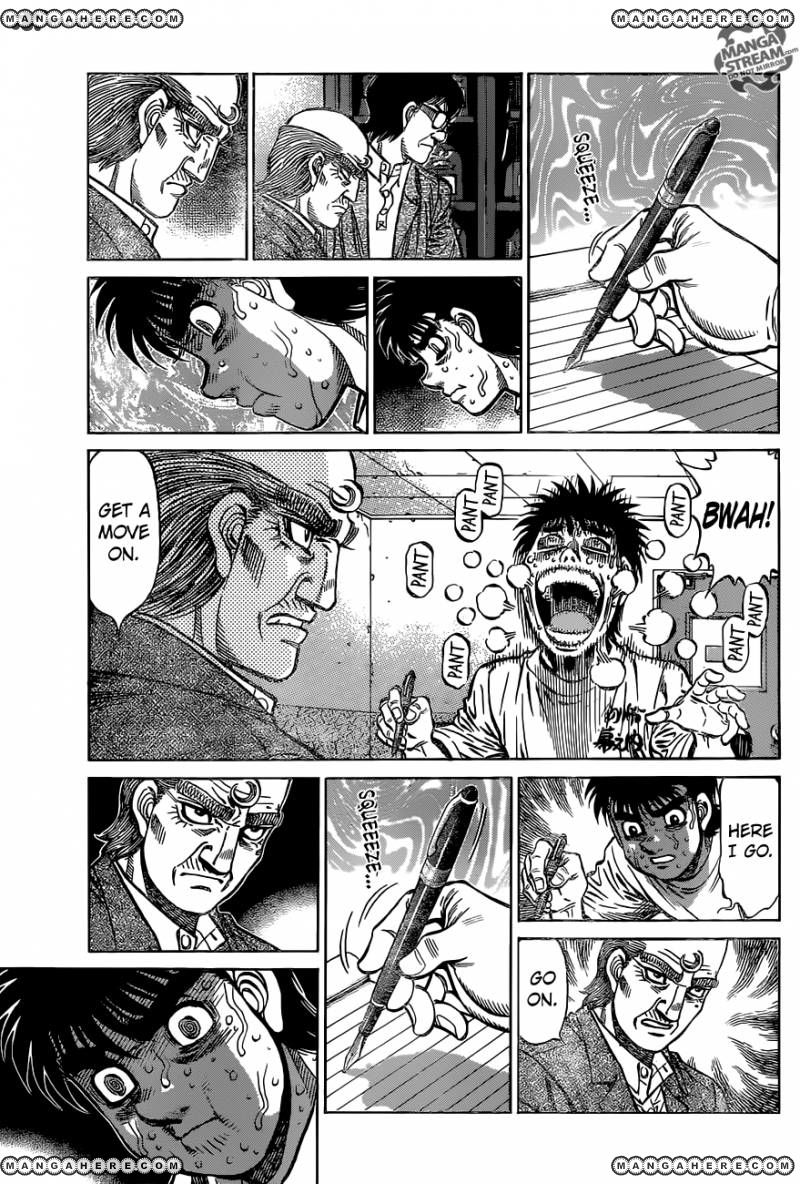 Hajime no Ippo - Chapter 1154