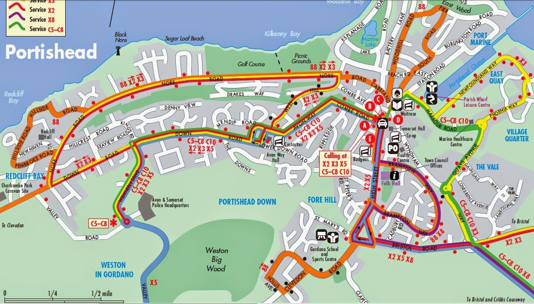 Portishead Bus Update: Local bus service directory