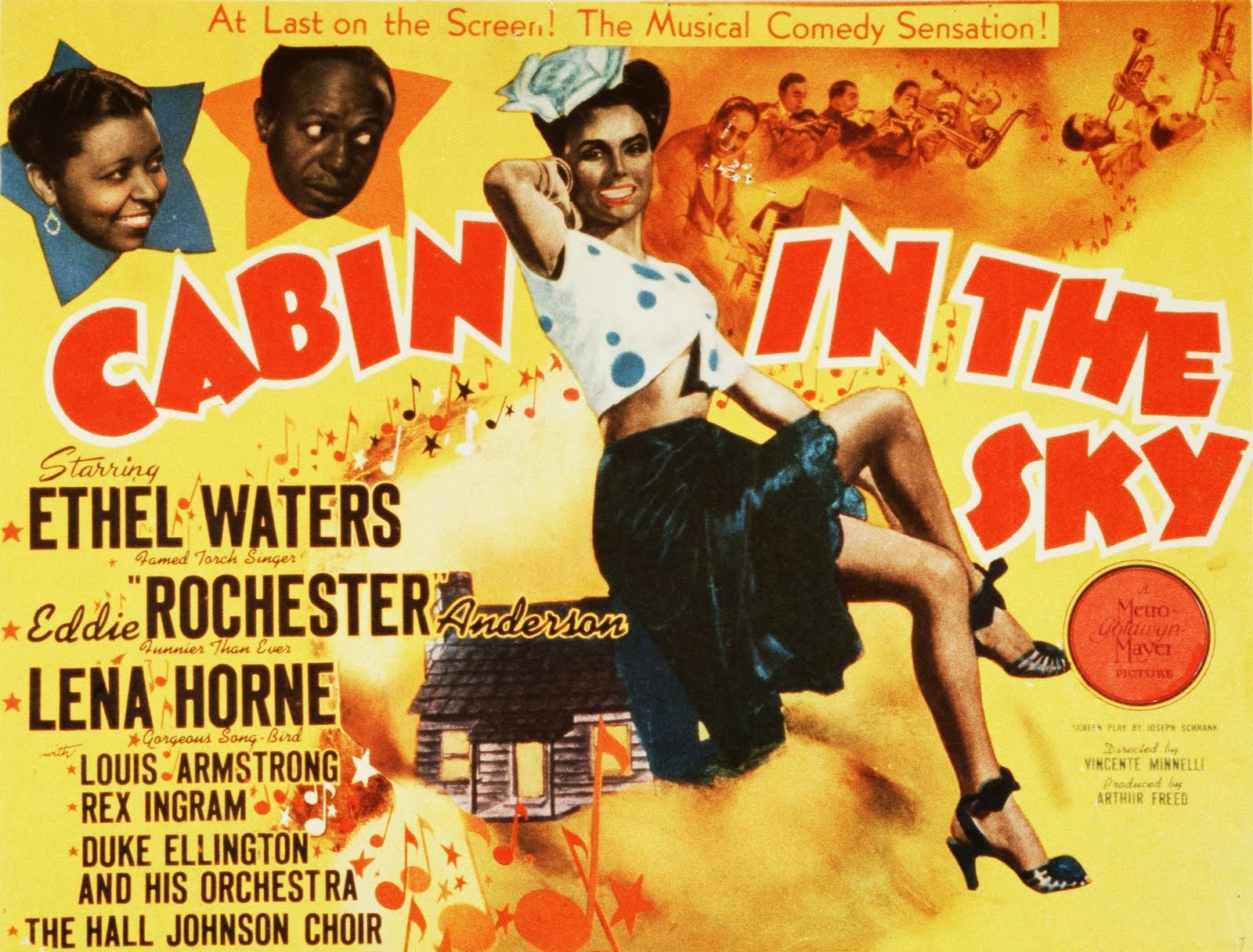 Cabin In the Sky 1943 English Christian Movie HD Poster
