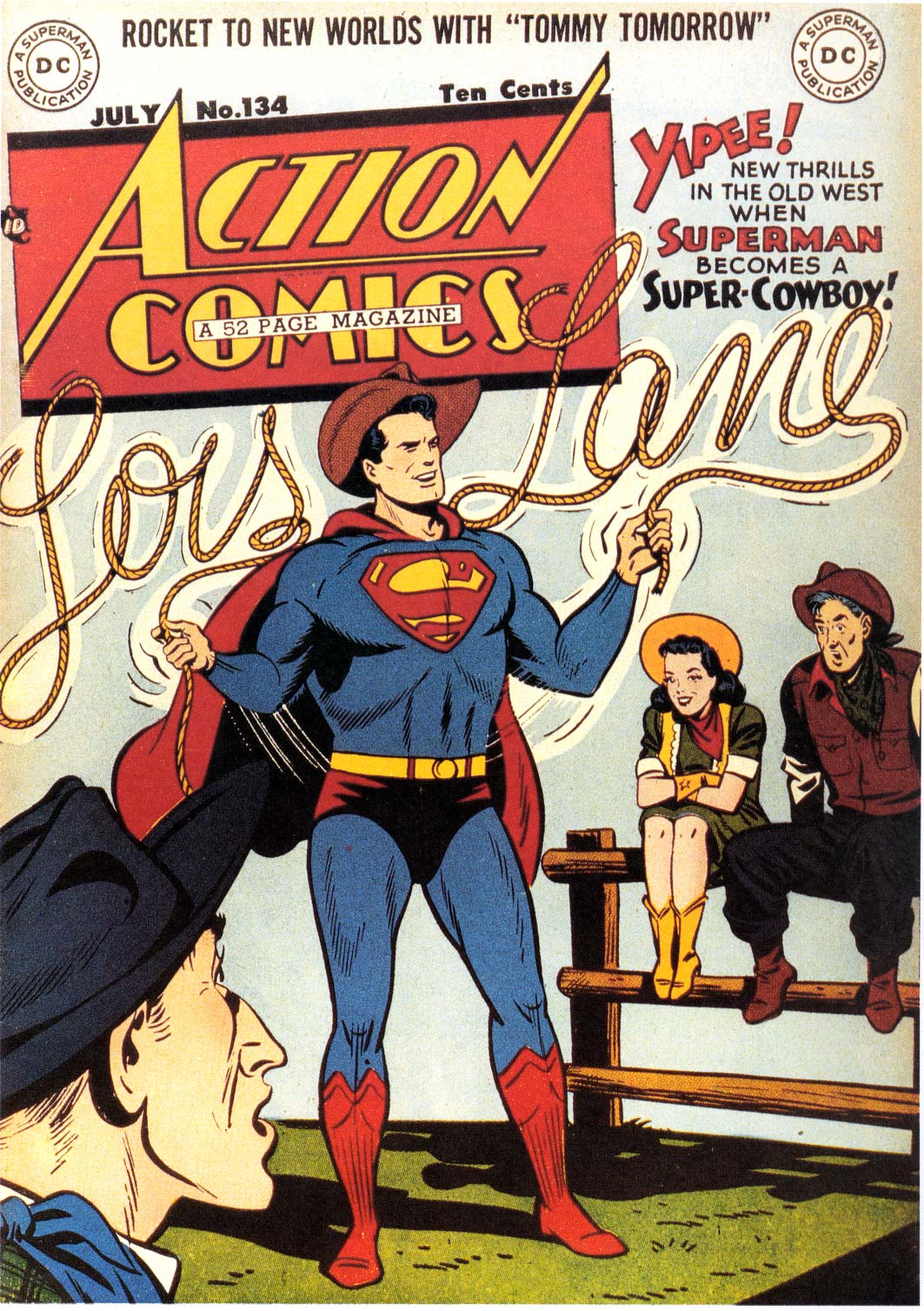 Read online Action Comics (1938) comic -  Issue #134 - 1