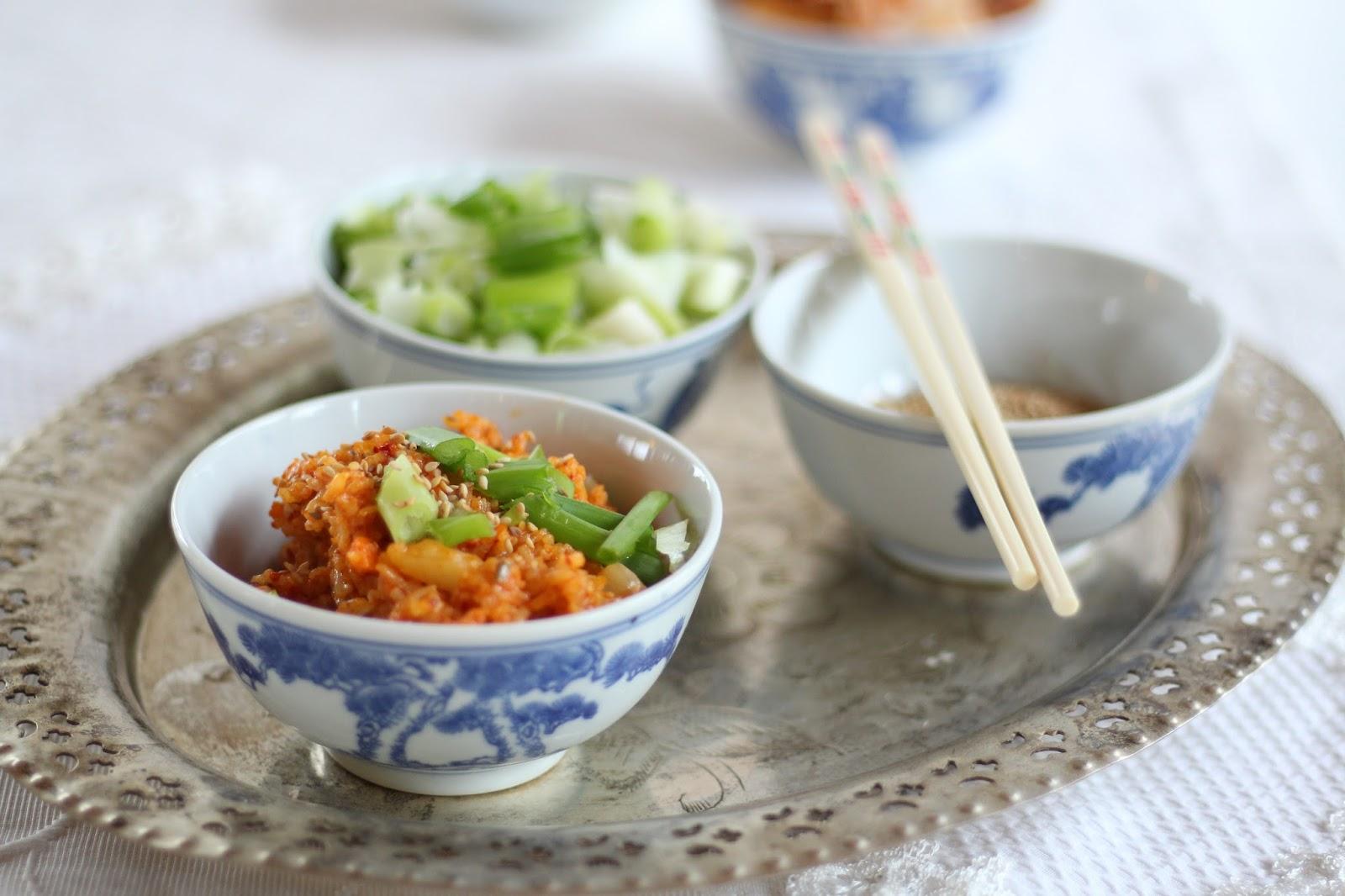 Kimchi Bokkeumbap - Kimchi Reis