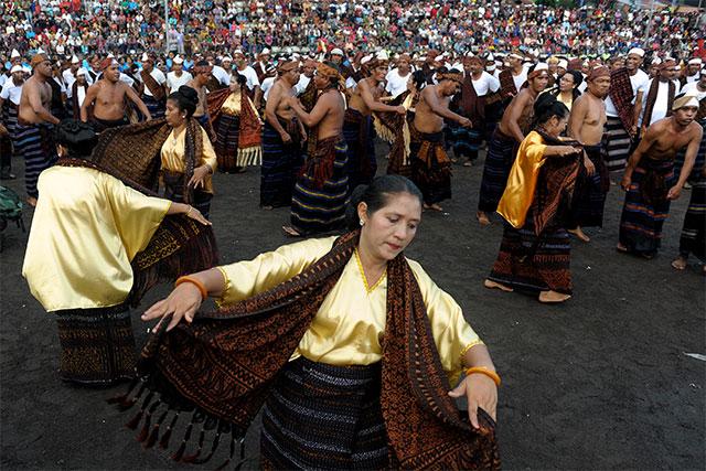 Tari Gawi, Tarian Tradisional Dari Ende, Flores, Provinsi Nusa Tenggara Timur