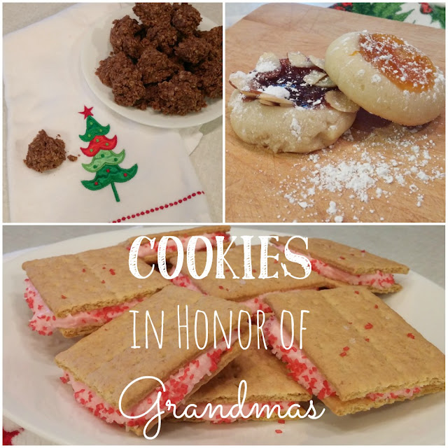 Easy cookie recipes in honor of my grandmas!