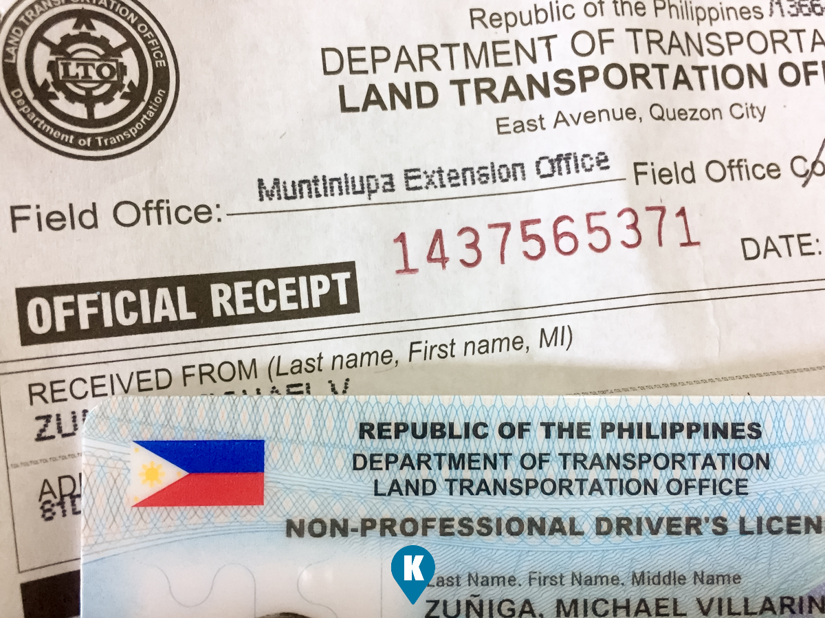 driver license lost philippines