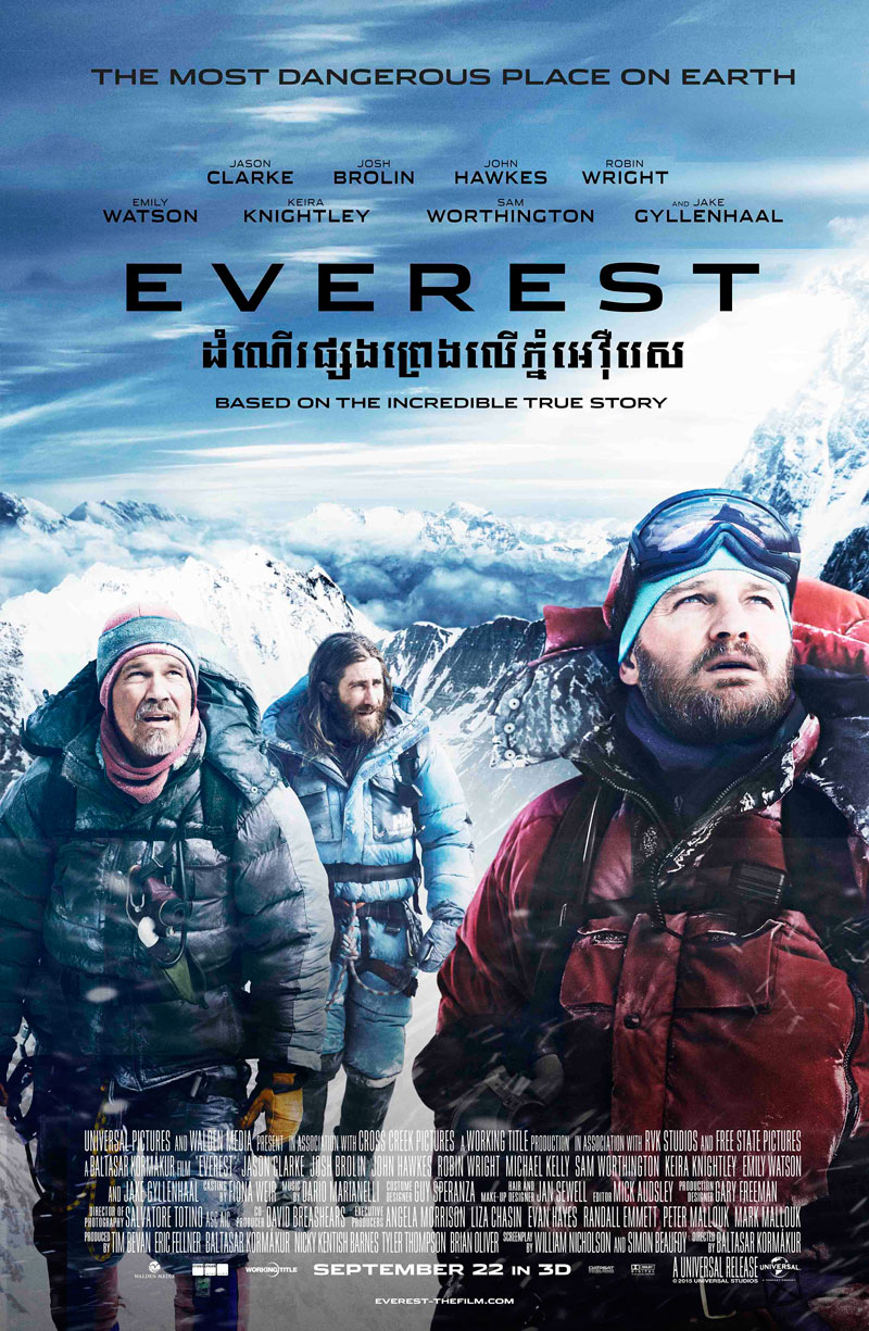 Pink and Undecided: Review : Everest Movie (and Interesting Facts about Mt.  Everest)