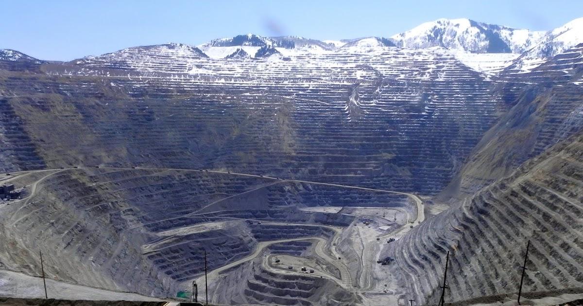 Napkindreams Bingham Canyon Copper Mine