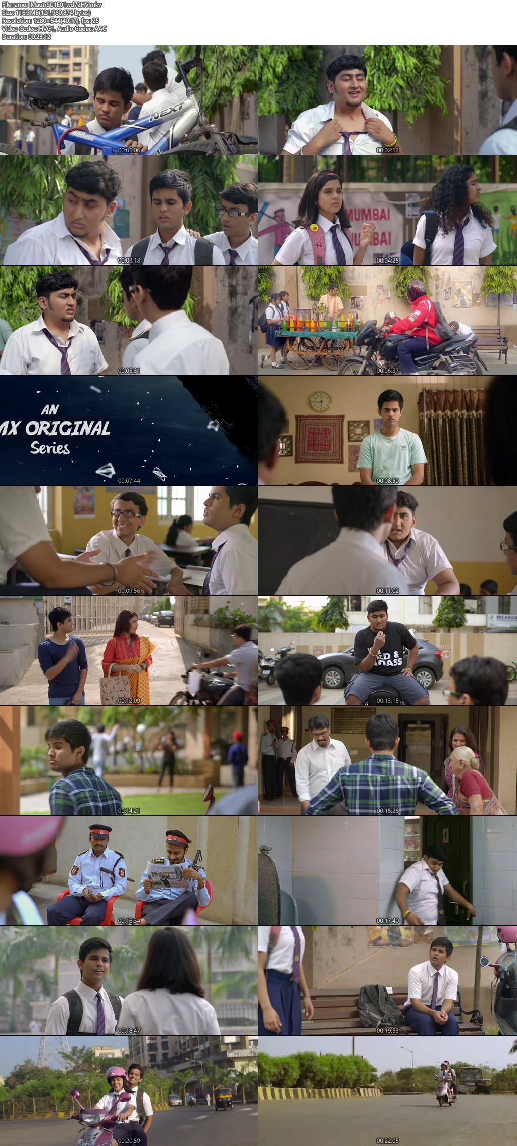 Screenshots Of Hindi Show ImMature Season 01 2019 Complete - All Episodes 300MB 720P HEVC HD