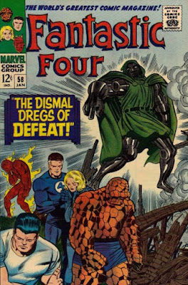 Fantastic Four #58, Dr Doom