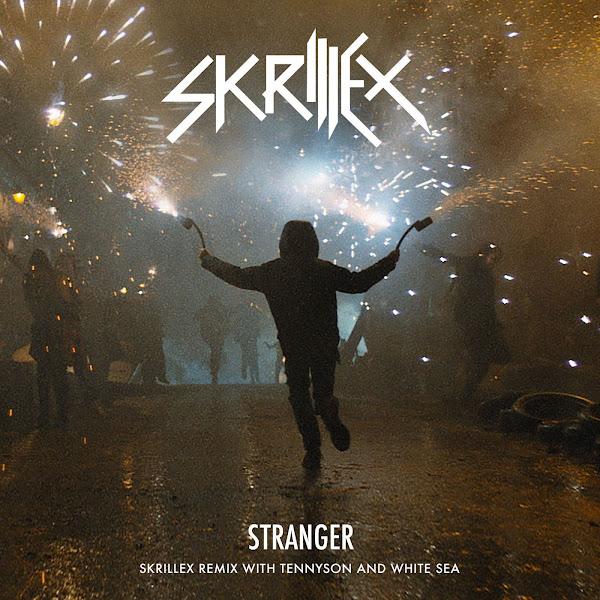 Skrillex - Stranger (Skrillex Remix with Tennyson & White Sea) - Single Cover
