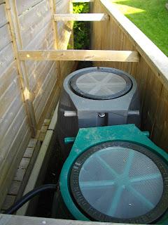 Automated Rainwater Harvesting