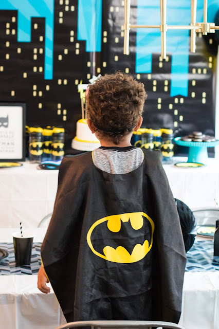Batman Cape for a Batman Party