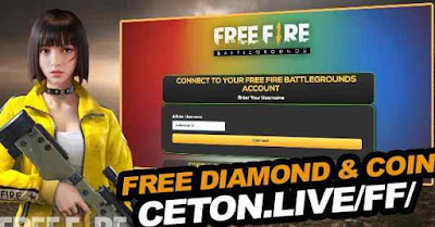 Ceton Live FF For Coins & Free Diamonds Free Fire